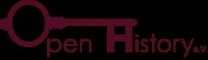 Logo des Vereins Open History e. V.