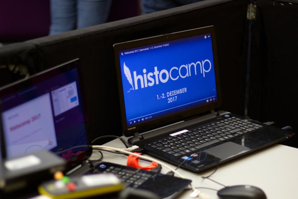 Equipment beim histocamp 2017 (Archivbild)